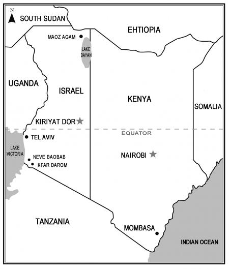 Israel, Kenia, Tel Aviv, Afrika