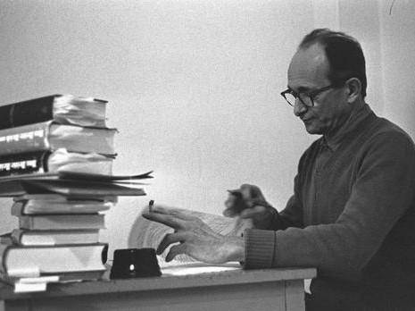 Adolf Eichmanns Bibliothek in Jerusalem
