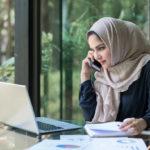 Araber, Frauen, High-Tech