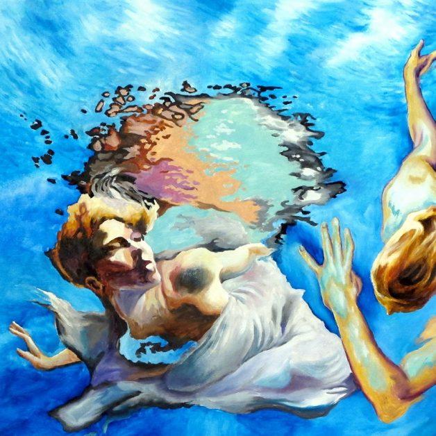 """Engel im Meer"", Oded Netivi, 2017"