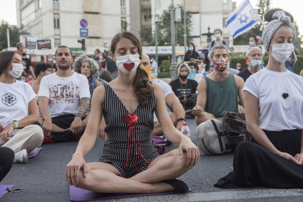 demonstration, israel, jerusalem, Protest, Dan Lazar, Fotos aus Israel