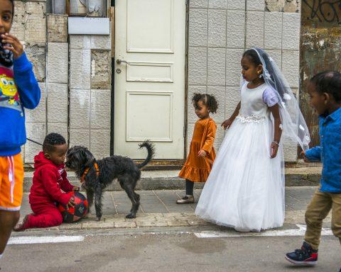 Süd-Tel Aviv, Israel, Immigranten