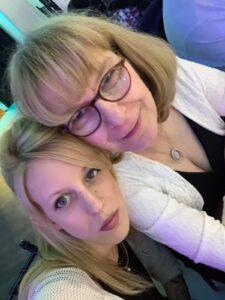 Ruth Trucks mit ihrer Tochter