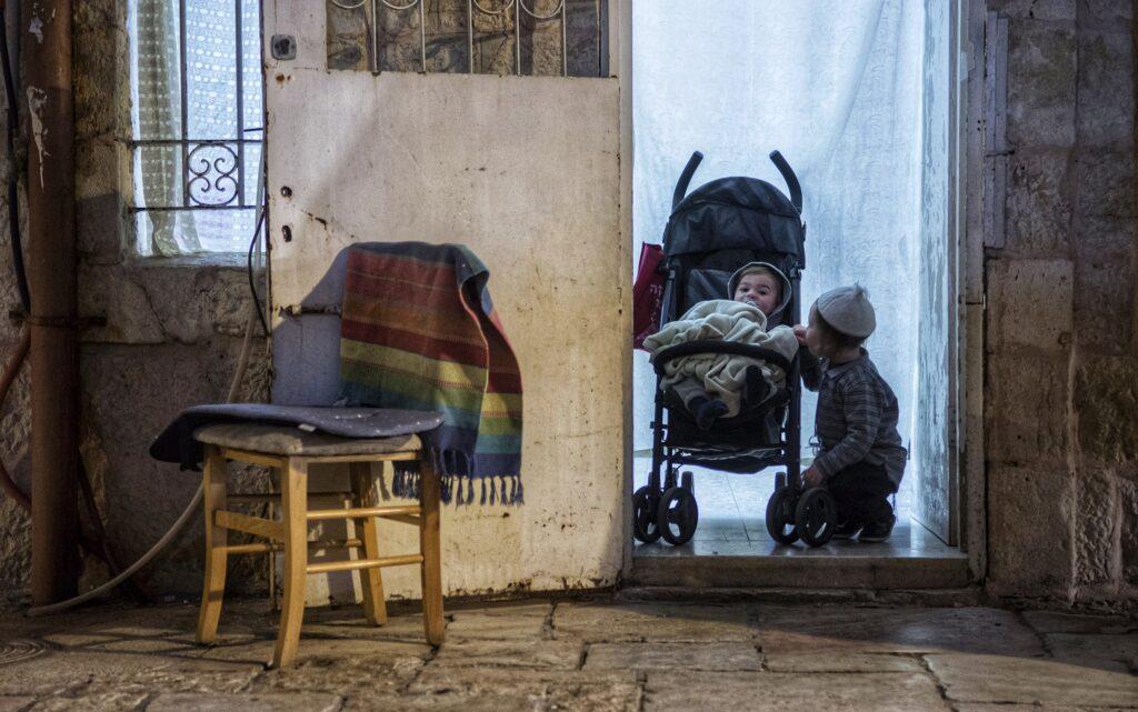 Juden, Dan Lazar, Mea Schearim, Kinder, ultraorthodox, Israel
