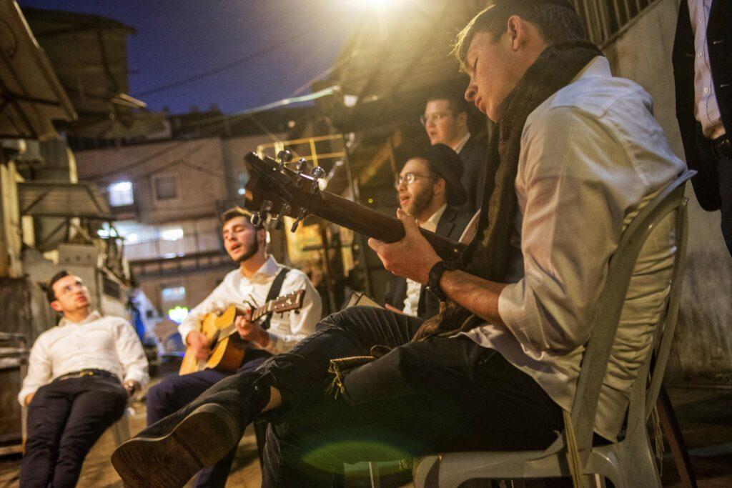 Juden, Dan Lazar, Mea Schearim, Jugendliche, ultraorthodox, Israel